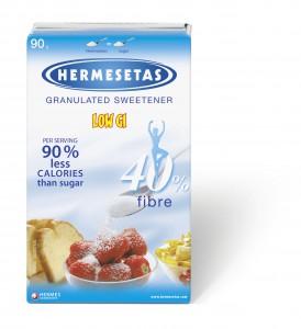 ĐƯỜNG ĂN KIÊNG HERMESETAS DẠNG HỘP 90G – MÃ: 5200