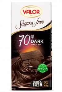 Sôcôla Valor đắng 70% cacao không đường – mã: SCL0882