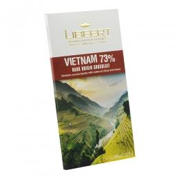 Sôcôla Libeert đắng Vietnam (73% cacao) 100g-mã: scl6180